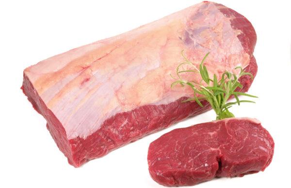 Muestra de Lomo Bajo Argentina que importamos en www.alosbifes.es carne para restaurantes. Entrega sin cargo en 48 horas en Península y Baleares